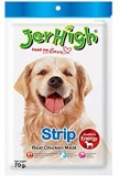 JerHigh 3 Pack of Strip 70gm Chicken Dog...