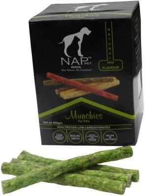 Nappets India Natural Vegi Flavour Munchies Vegetable Dog Food