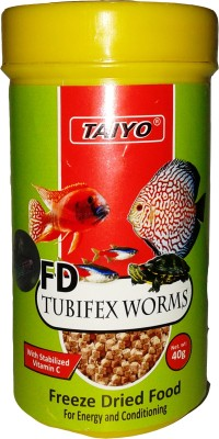 Taiyo Tubifex Worms 40gm Fish Fish Food