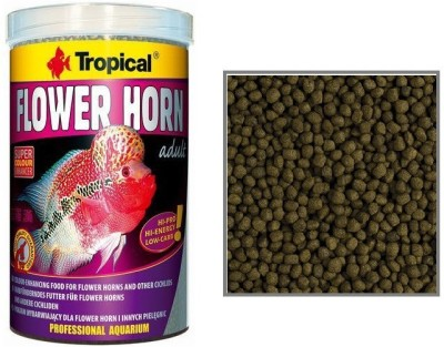 Tropical Flower Horn Adult 380g/1000ml | Super Colour Enhancer | Hi-Pro, Hi-Energy, Low-Carb NA Fish Food