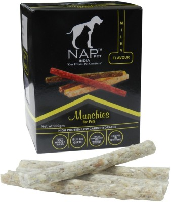 Nappets India Milky Flavour Munchies Milk Dog Food