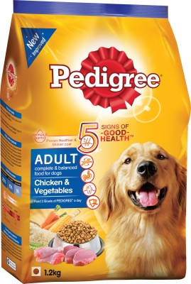 Pedigree Adult Chicken & Veg Chicken, Vegetable Dog Food