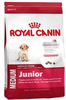 Royal Canin Medium Junior 4kg Dog Food