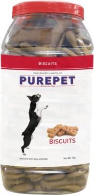 Purepet Biscuits Chicken Dog Food