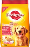 Pedigree Young Adult Chicken, Rice Dog F...