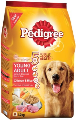 Pedigree Young adult Chicken, Rice Dog Food