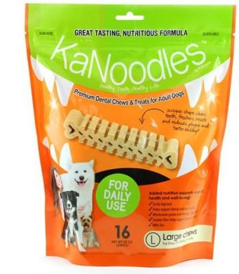 Forcans Kanoodles Premium Dental Chew 12oz L Mint Dog Food