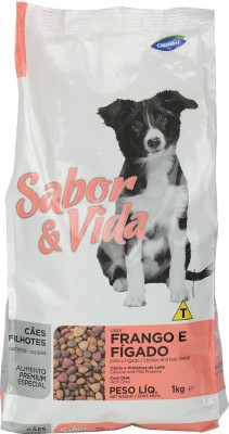 Sabor & Vida Puppies Chicken, Liver Dog Food
