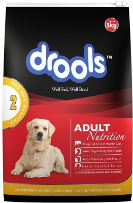 Drools Adult Chicken, Egg Dog Food