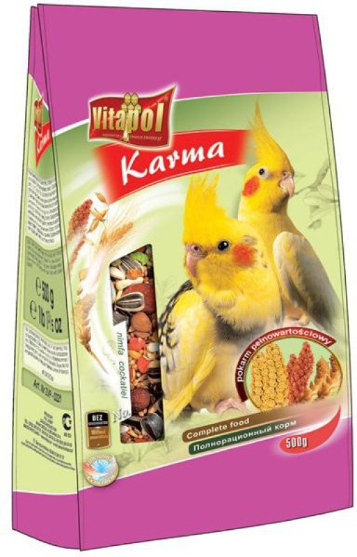 Vitapol For Cockatiel Bird Food(500 g Pack of 2)