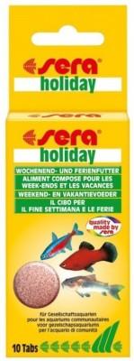 Sera Weekend & Holiday 10 Tabs   High-Quality NA Fish Food