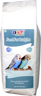 JiMMy Food For Budgie NA Bird Food(900 g Pack of 1)