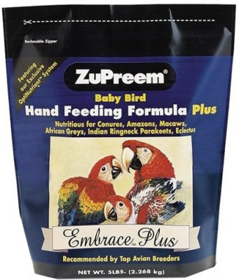 Zupreem Embrace Plus 4/5 LB Bird Food