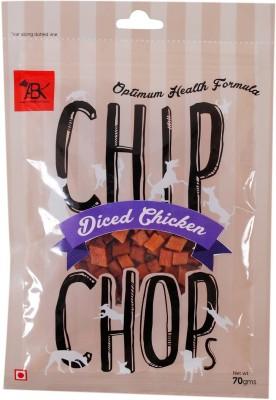 CHIP CHOPS Snacks Diced Chicken, 70gm Liver Dog Food