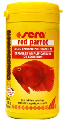 Sera Red Parrot 80g/250ml NA Fish Food