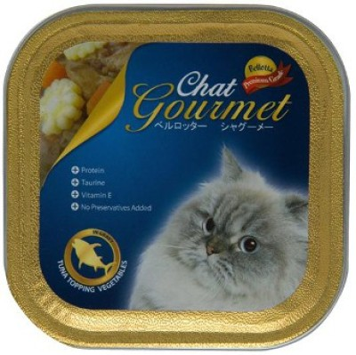 Bellota Topping Tuna, Vegetable Cat Food