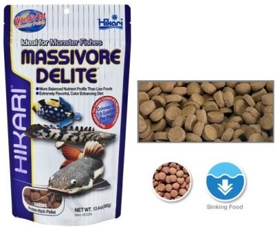 Hikari Massivore Delite 380g | Sinking Protein Rich Pellet NA Fish Food