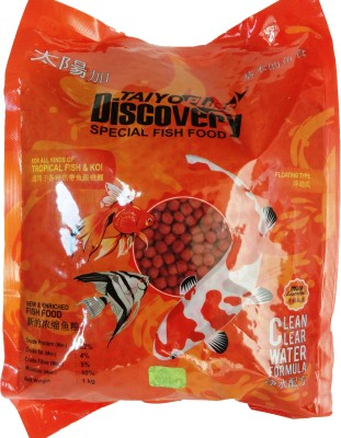 TAIYO DISCOVERY- 5MM pellet ** COLOURFUL AQUARIUM Fish Fish Food
