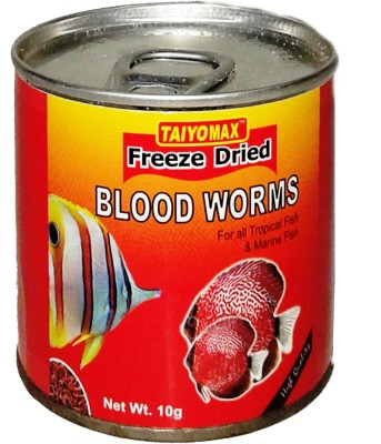 Taiyo Blood Worms 10gm Fish Fish Food