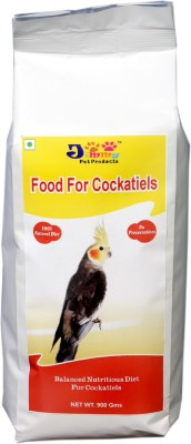 JiMMy For Cockatiel NA Bird Food(900 g Pack of 1)