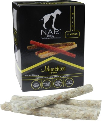 Nappets India Munchies Milk Dog Food