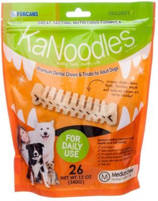 Forcans Kanoodles Premium Dental Chew 12oz M Mint Dog Food