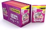 Whiskas Kitten Wet Food Chicken Cat Food...
