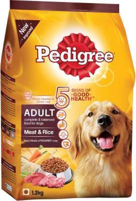 Pedigree Adult Meat & Rice Mutton, Rice Dog Food