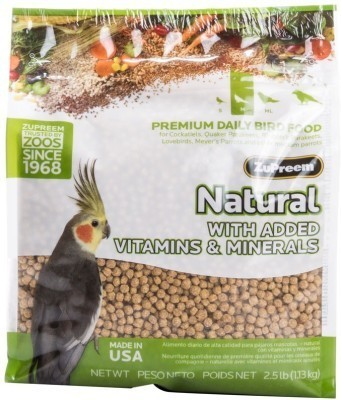 ZUPREEM Natural Medium, 1.13kg Nuts Bird Food
