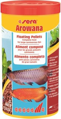 Sera Arowana Floating Pellets 360g/1000ml   NA Fish Food