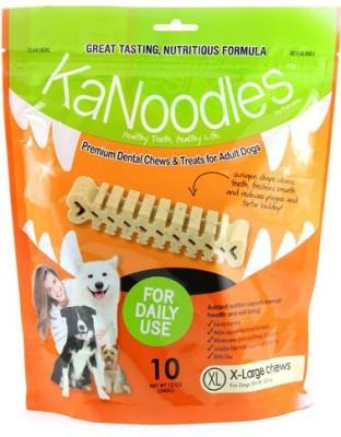 Forcans Kanoodles Premium Dental Chew 12oz XL Mint Dog Food