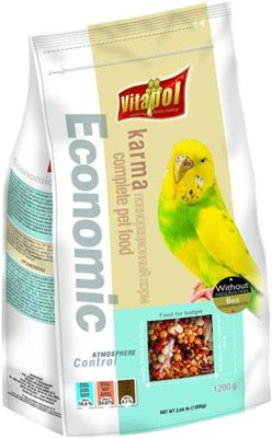Vitapol Economic Budgie Bird Food(1.2 kg Pack of 2)