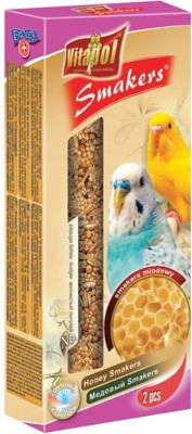 Vitapol Honey Smakers for Budgies Bird Food(90 g Pack of 3)
