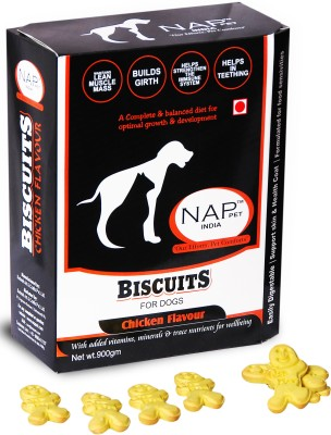 Nappets India Dog Biscuits Chicken Dog Food