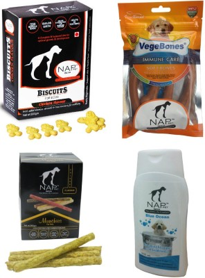 Nappets India NAP PET Combo Offer Chicken, Rice Dog Food