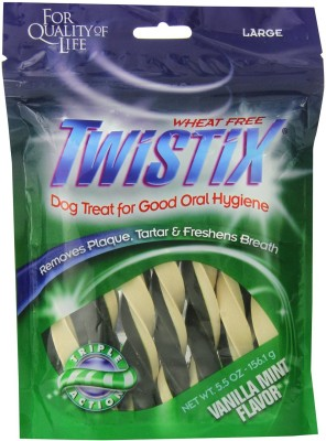 Twistix Vanilla Mint Large Mint Dog Food