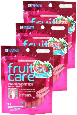 Forcans Fruit Care (Strawberry) M(Pack of 3) Strawberry Dog Food