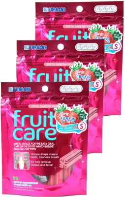 Forcans Fruit Care (Strawberry) S(Pack of 3) Strawberry Dog Food