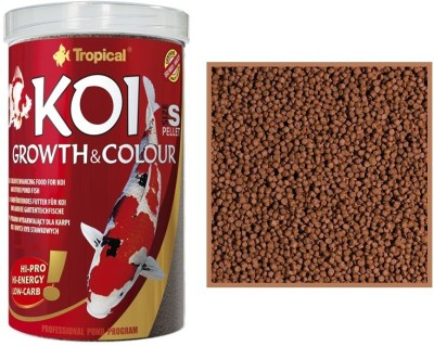 Tropical Koi Growth & Color 400g/1000ml | Small Pellet NA Fish Food