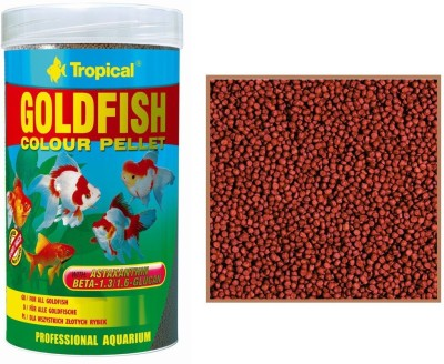 Tropical Gold Colour Pellet 90g/250ml | For All GoldFish NA Fish Food