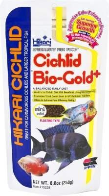 Hikari Cichlid Bio Gold mini pellet floating type NA Fish Food