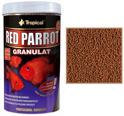 Tropical Red Parrot Granulat 400g/1000ml NA Fish Food