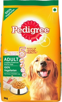 Pedigree Adult Vegetable Dog Food(3 kg Pack of 1)