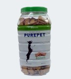 Purepet Biscuits Vegetable Dog Food (1 k...