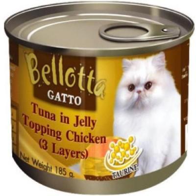 Bellota Gatto in Jelly Chicken, Tuna Cat Food