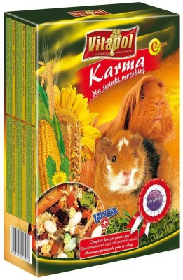 Vitapol Food For Guinea Pig Pack of 3 Food