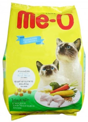 Me-O Chicken & Vegetable cat food Chicken Cat Food