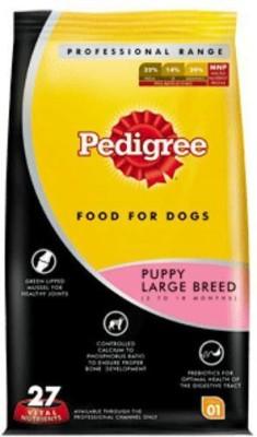 Pedigree Puppy Large Breed Chicken, Rice Dog Food