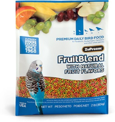Zupreem Fruit Blend Food for Small Birds. NA Bird Food