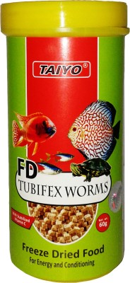 Taiyo Tubifex Worms 60gm Fish Fish Food
